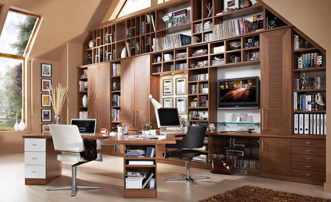 bespoke home office. Office Fitting Bespoke Home